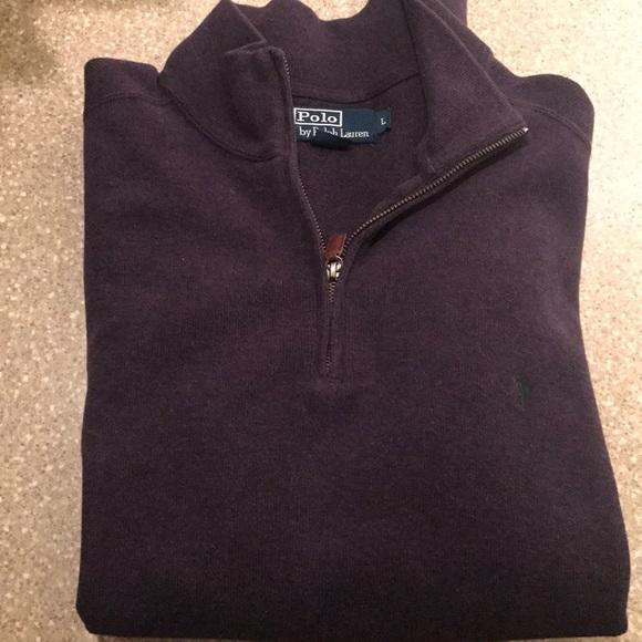polo boat shoes ralph lauren zip sweater